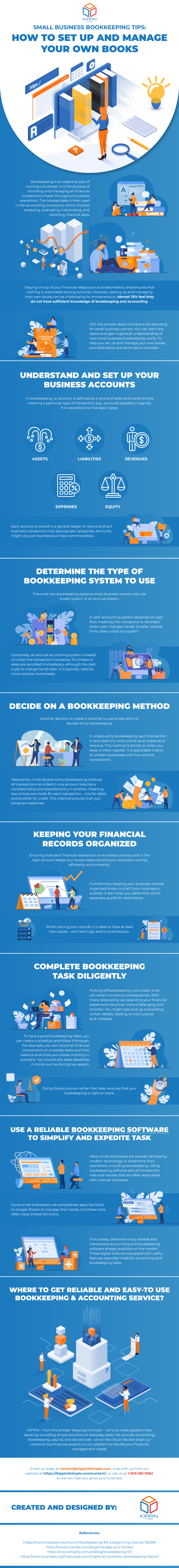 Small Business Bookkeeping Tips: How To Set up and Manage Your Own Books