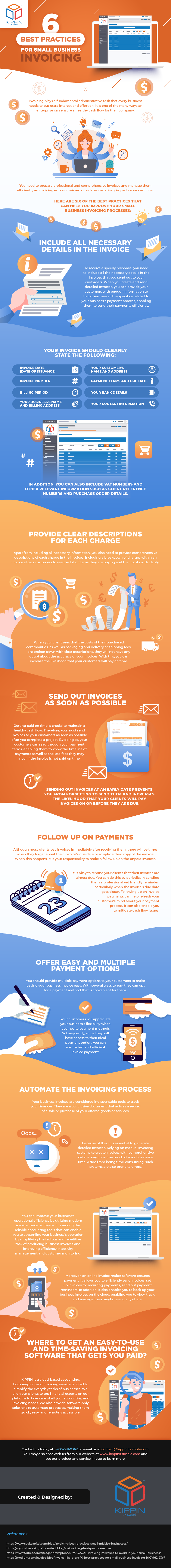 6 Best Practices for Small Business Invoicing